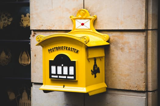 Photo of an old mailbox that says Send Someone a Love Letter